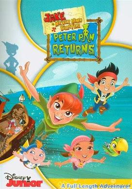 Jake y los piratas de Nunca Jamás El regreso de Peter Pan DVDRip Latino