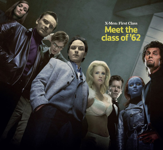 Los mutantes de X-men: Primera generación