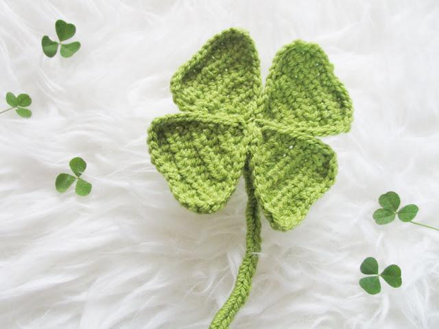 Mingle Mangle Crochet Geluk Is Een Klavertje Vier Haken