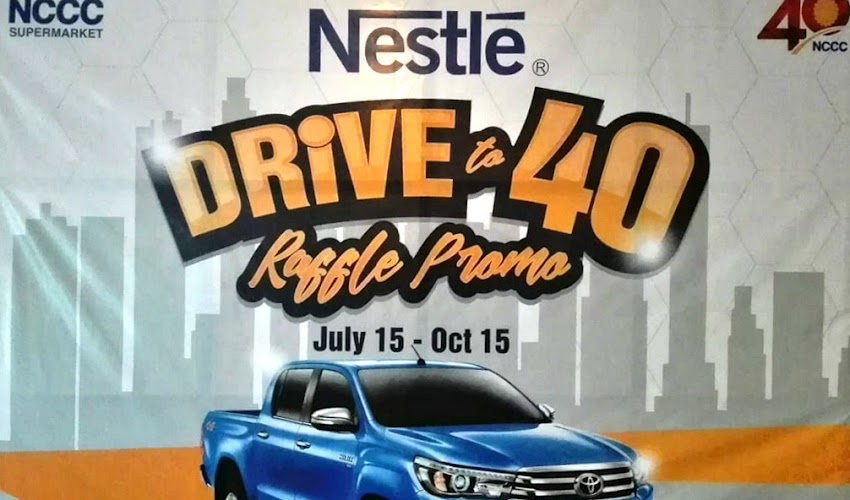 NCCC Supermarket Rolls Out #Roadto40 Campaign with a BIG Raffle Promo