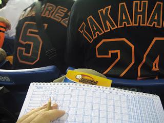 Japanese scorekeeping