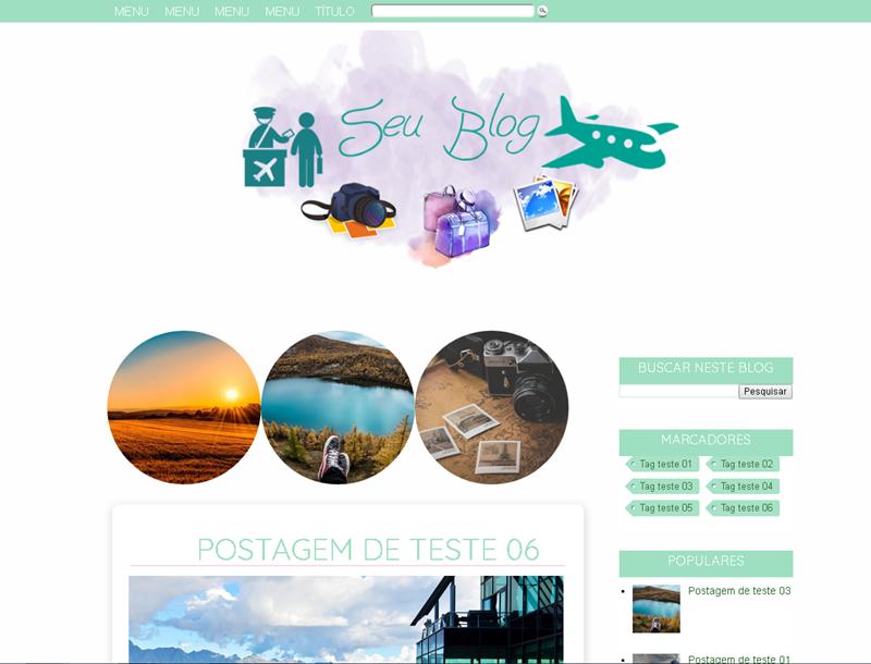 template Blogger Grátis