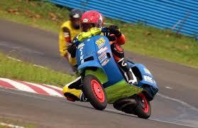 Bagian Atau Cara Modifikasi Vespa Racing