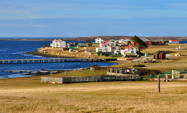 East Falkland's Small Villages