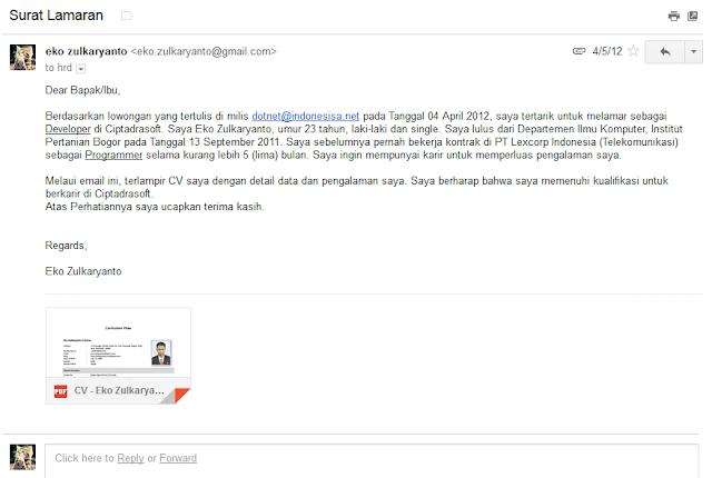 Inilah Tips Mengirim Email dengan Lampiran untuk Melamar Kerja atau Mengirim Data