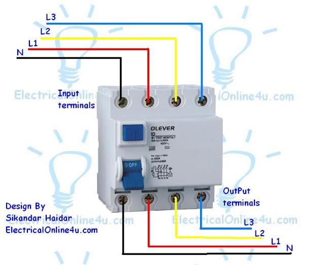 wiring diagram for breaker box