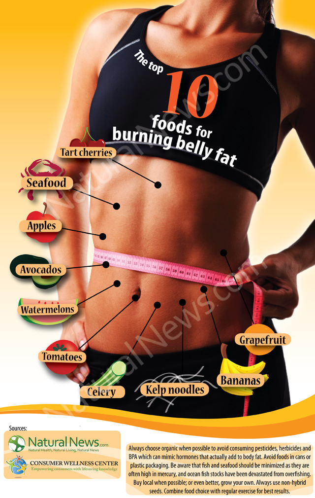 Infographic-Top-Ten-Foods-Burning-Belly-Fat