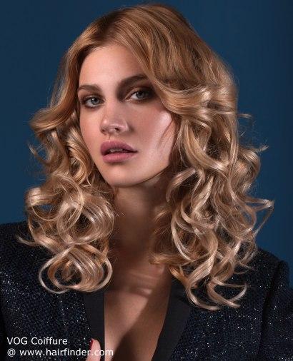 Peinado ONDAS SUPER GRANDES y CON VOLUMEN YouTube - Peinados Con Volumen Y Ondas