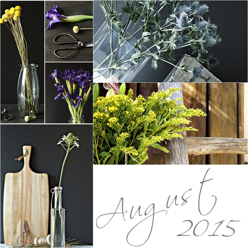 Blog + Fotografie by it's me! - Collage Friday Flowerday - August 2015