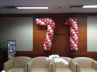 aneka bentuk dekorasi balon yang lucu dan keren untuk momen spesial anda