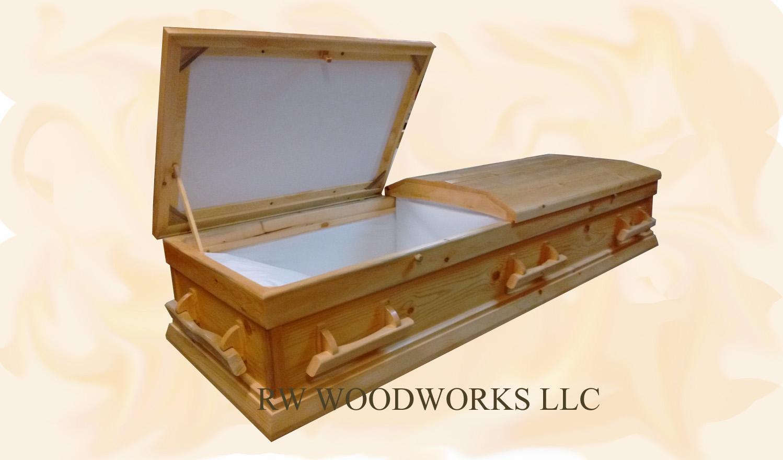 Affordable Handmade Pine Caskets