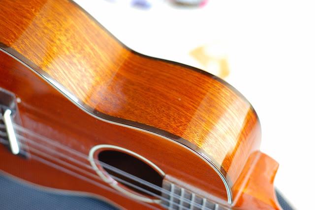 Ohana TK-35G-5 Tenor 5 string ukulele sides
