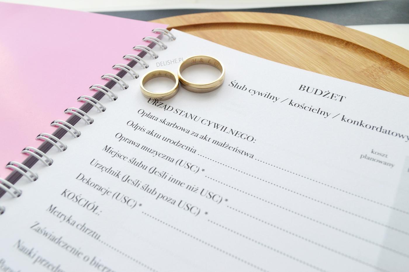 niezbędnik panny młodej organizer ślubny niezbędnik