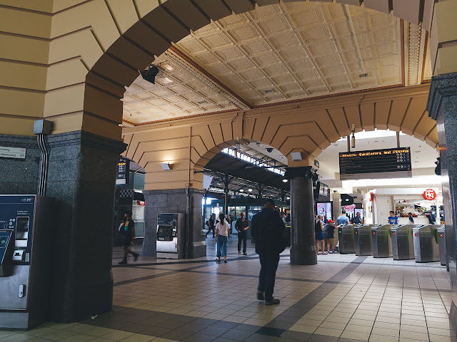フリンダース・ストリート駅(Flinders Street Station)