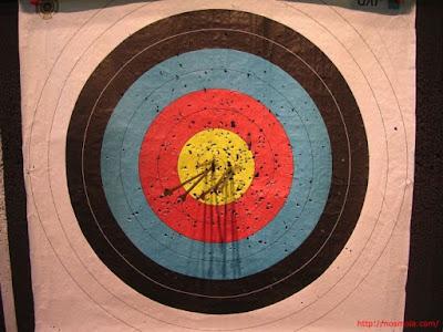 diana para tiro con arco al aire libre