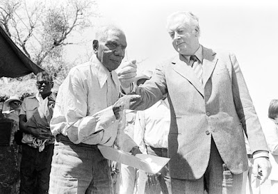 gough whitlam and aboriginal elder