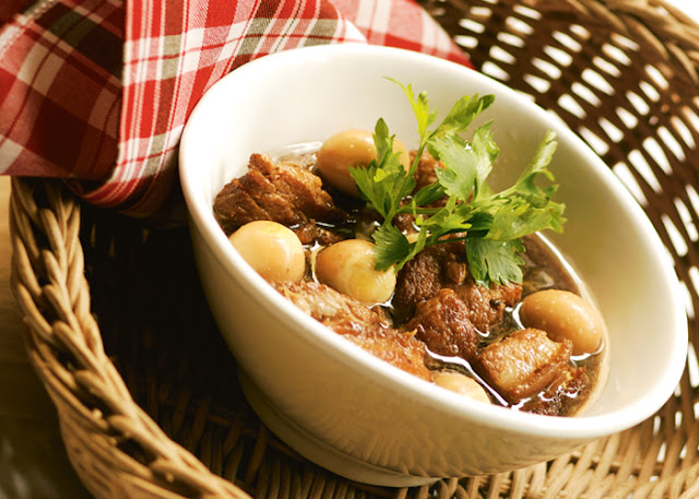 Adobo with Quail Eggs Recipe