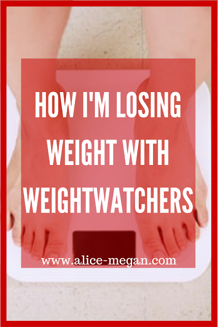How I'm losing weight with weightwatchers