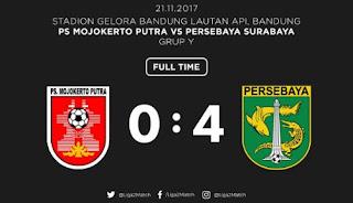 Persebaya Surabaya Hajar PSMP Mojokerto 4-0