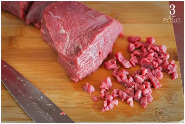 steak tartare passo a passo