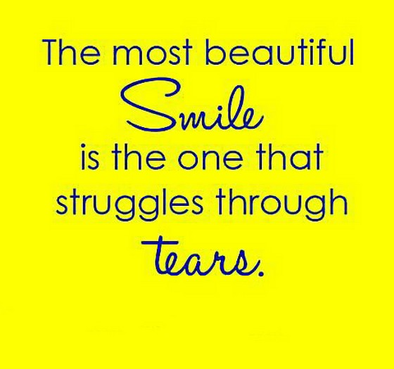 Nice Quotes On Beautiful Smile: The Most Beautiful Smile Is The One That