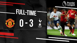 Manchester United vs  Tottenham Hotspur 0-3 Highlights