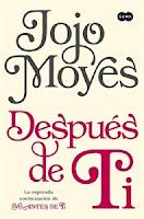 Número 10: Después de ti, Jojo Moyes.