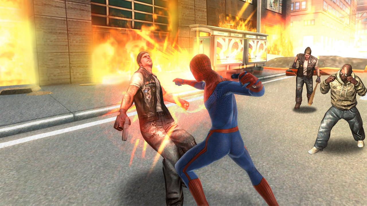 The amazing spider man 2 game free download for android crack