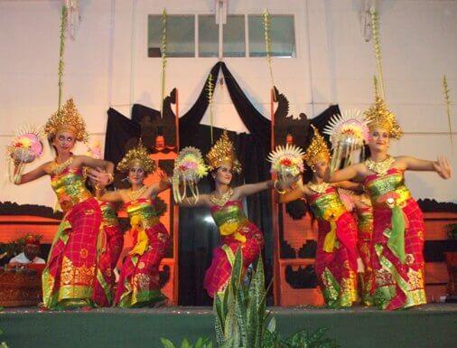 Sekar Jagat Dance, Tari Sekar Jagat Bali