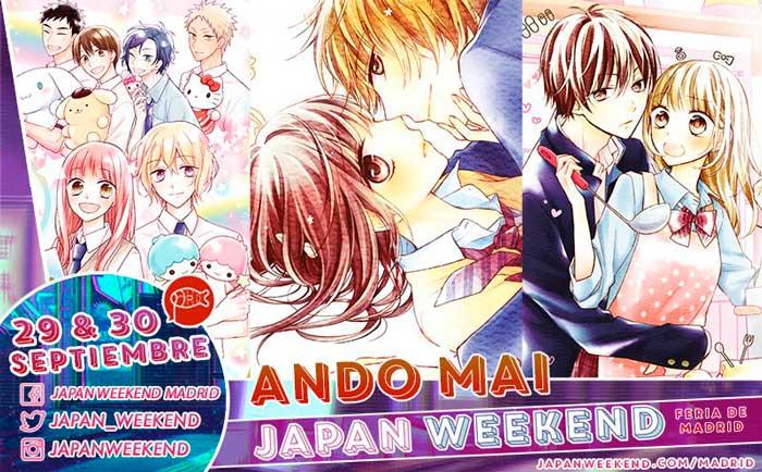 Mai Ando Japan Weekend Madrid 2018