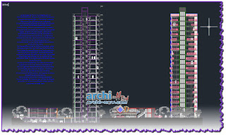 download-autocad-cad-dwg-file-housing-complex-and-tower