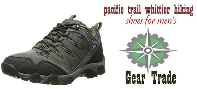 pacific trail whittier hiking shoes - men's