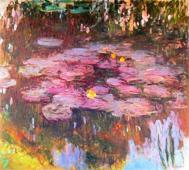 Art & Artists Claude Monet - Part 24 1897 1922 Water Lilies