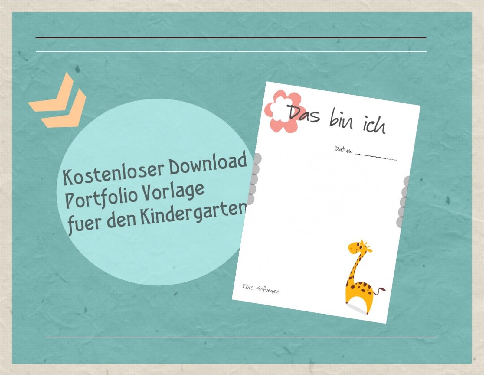 77 Seiten Portfolio Vorlagen Fur Die Kita Und U3 Etsy