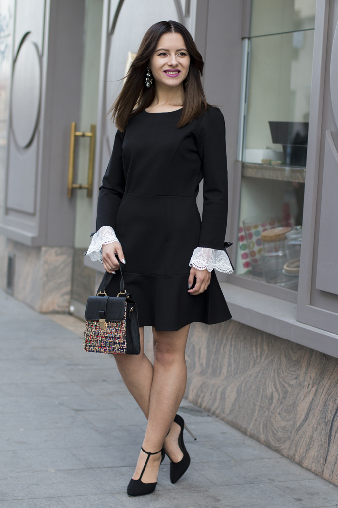how to wear the little black dress