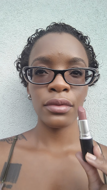 M.A.C Cremesheen Lipstick 'Creme In Your Coffee' swatch www.modenmakeup.com