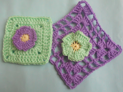 crochet-crosia-Crochet-Daisy-Flower-Granny-Square-design-pattern-free-tutorial-picture-step by step-handmade-video