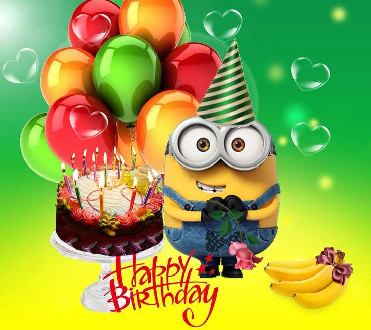 birthday wishes minions