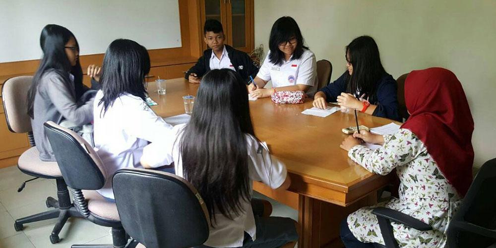 Ikuti WEP, Siswa SMA Kalam Kudus Dibekali Pengalaman Kerja