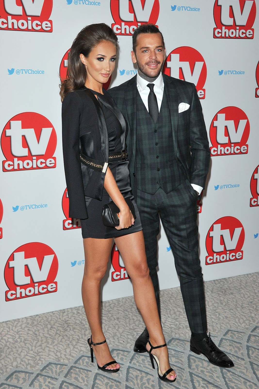 HD Photos of Megan Mckenna at TV Choice Awards in London