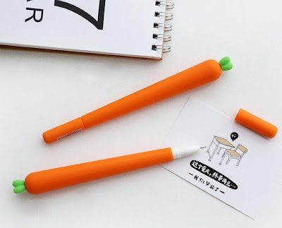 Carrot Gel Pen