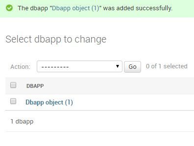 Django database interaction tutorial