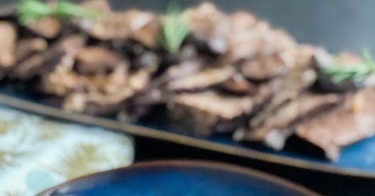 Red Wine Pot Roast with Mushrooms