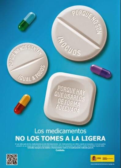 polimedicacion seguridad paciente medicamentos no los tomes a la ligera ministerio sanidad