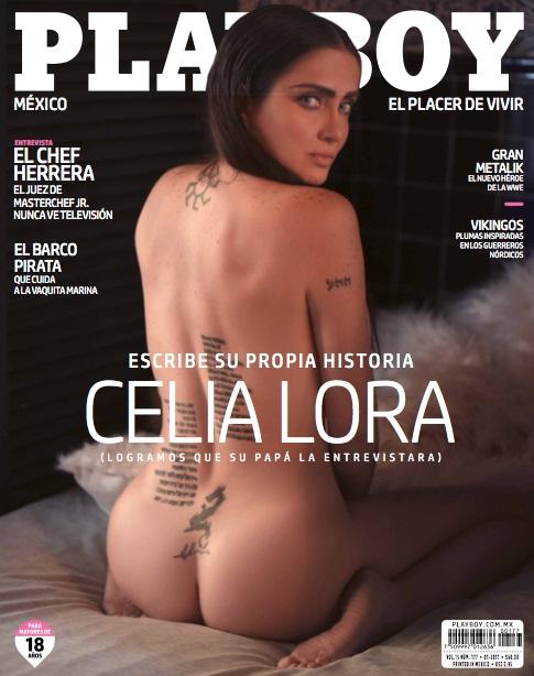 Fotos Celia Lora Playboy Julio 2017 FamosasEnRevistas