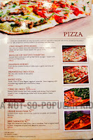Red Garlic Pizza Menu and Prices