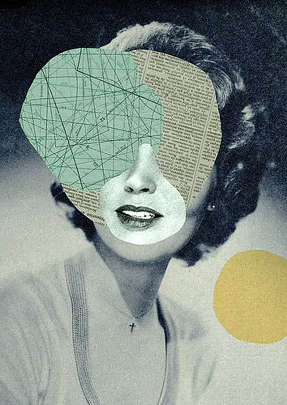 Ilustración y collage: Mathilde Aubier