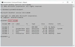 Cara Membuat Partisi Dengan Diskpart di Windows 10