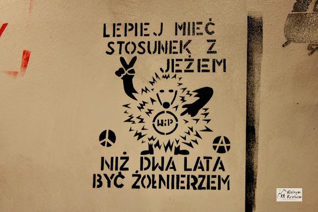 Graffiti z przesłaniem
