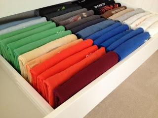 Marie Kondo Dresser Drawers